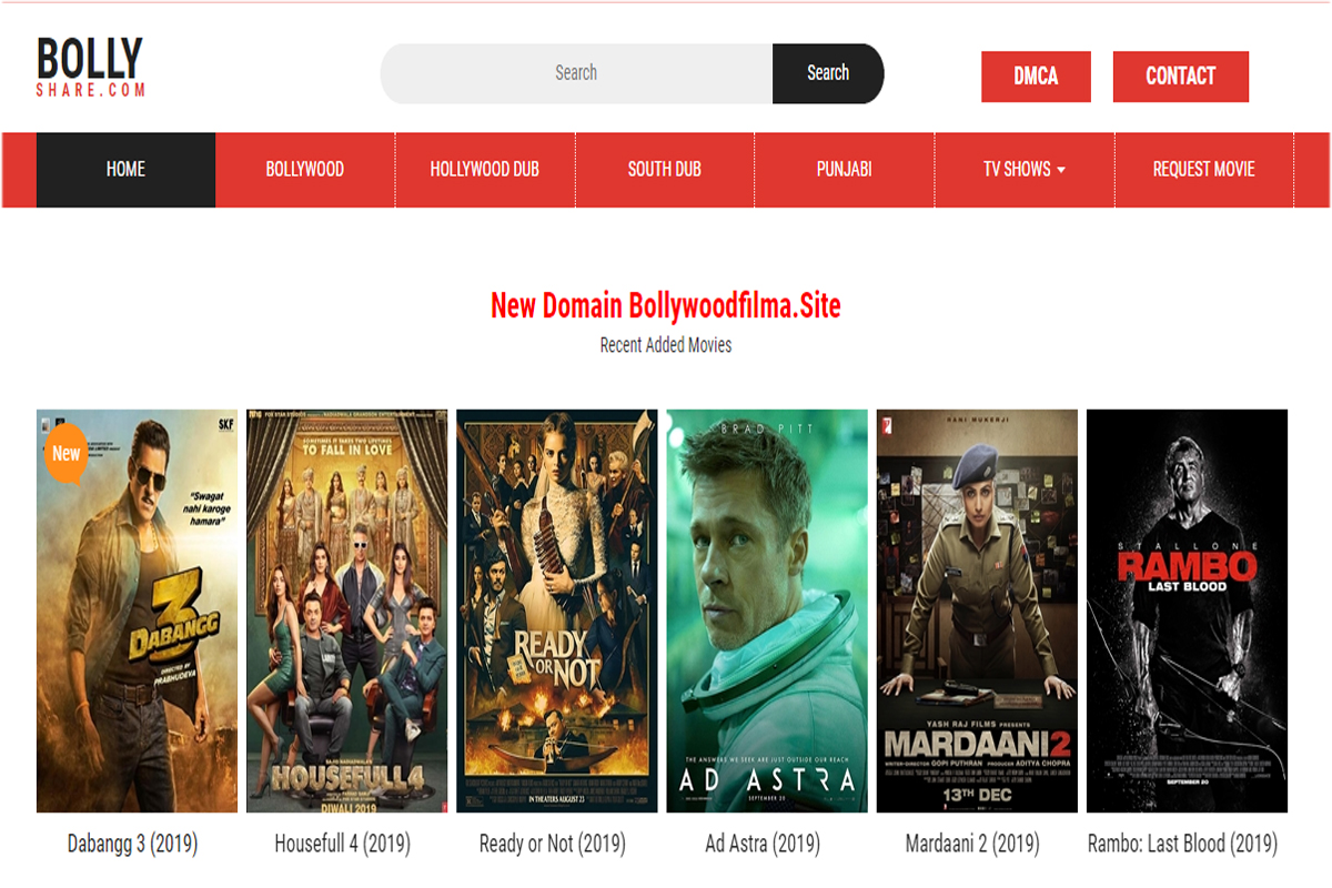Bollyshare 2020 Download Bollywood HD New Movies