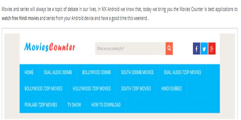 Movies Counter 2020 Download Bollywood Movies HD