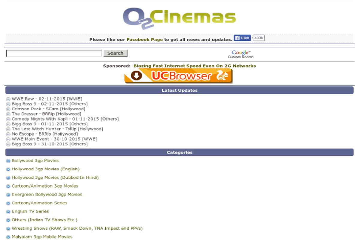 O2cinemas Free Bollywood New Movies Download