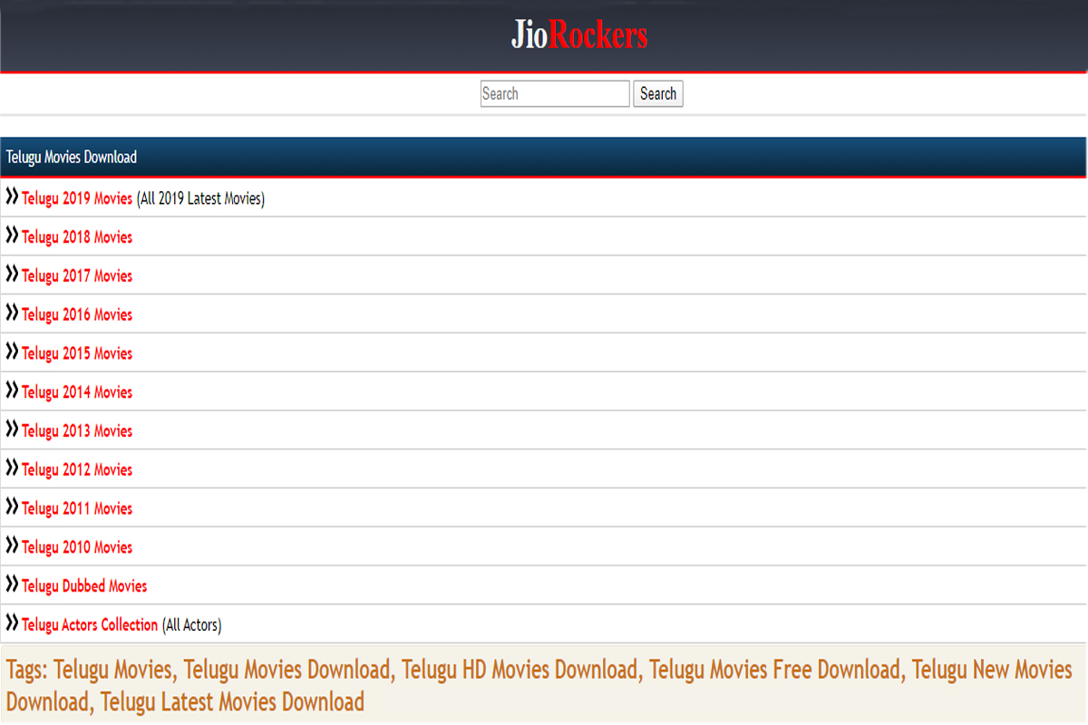 Jio Rockers 2020 Telugu HD Movies Download Jiorocker