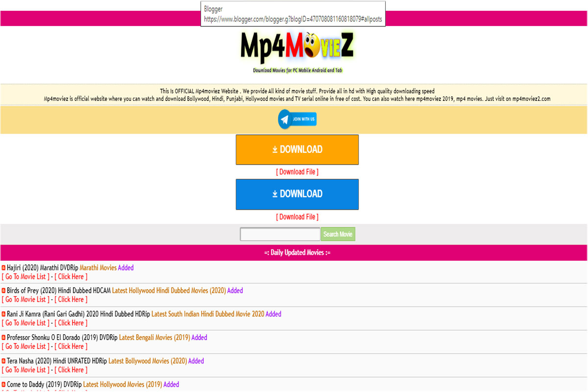 Mp4moviez free movies New movies